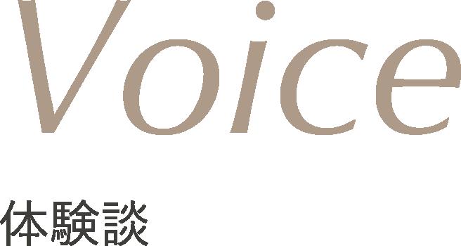 Voice 体験談